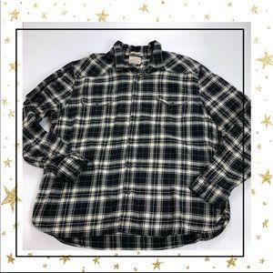 Lucky Brand Mens Classic Fit Plaid shirt (Hu23K6L)